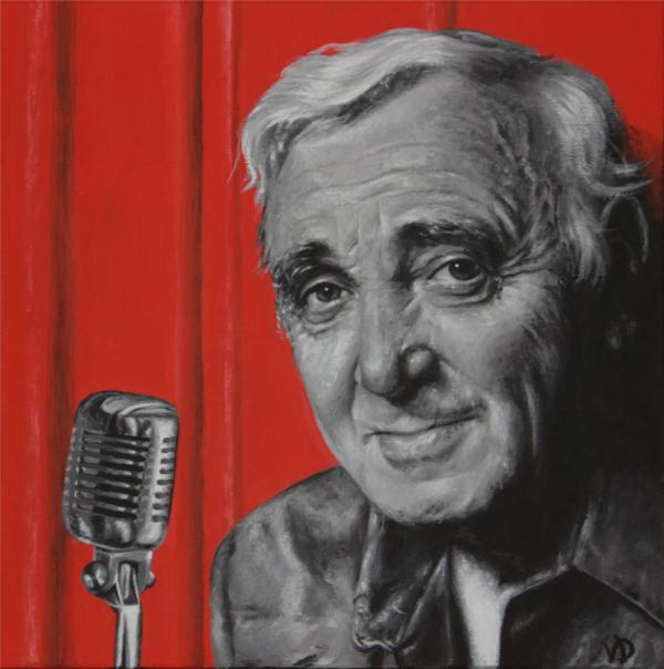 Charles Aznavour by gristricote